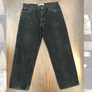 Levi's 550 jeans relaxed fit mens size 38X30